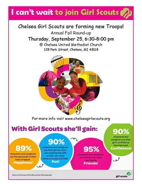 girl scout templates for flyers 34 best images about gs recruiting on pinterest