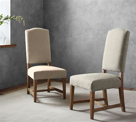 dining room chairs pottery barn ashton non tufted dining chair pottery barn