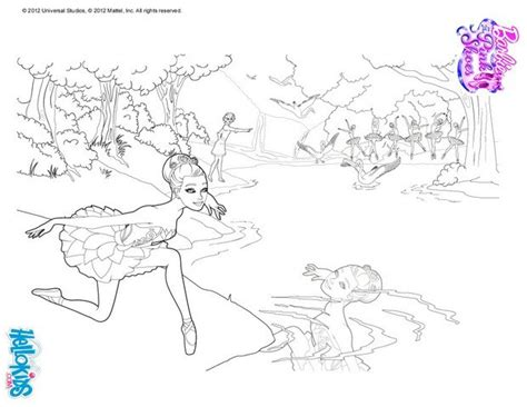 swan lake ballet coloring pages tara in the swan lake ballet coloring pages hellokids com