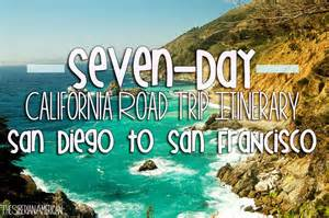 The siberian american california road trip seven day itinerary from