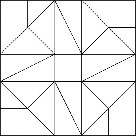 printable quilt square patterns adult printable simple mosaic coloring pages coloring
