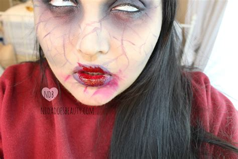 zombie tutorial ruby beginner halloween makeup tutorial a day to halloween
