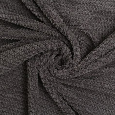 upholstery cord fire retardant soft velvet chenille zig zag jumbo cord
