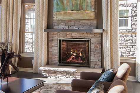 White Mountain Fireplaces by Truflame Fireplaces Direct Vent White Mountain Hearth
