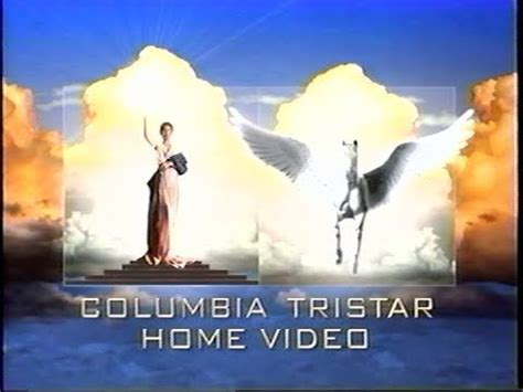 columbia tristar home video logo  vhs p