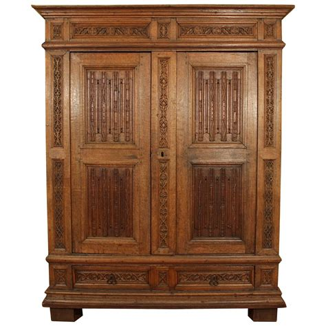 armoires wardrobes furniture 16th century french gothic armoire at 1stdibs