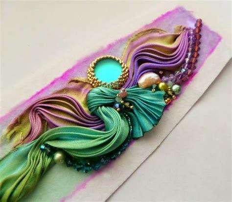 Handmade Jewellery Techniques - de cor s handmade jewelry step by step shibori cuff