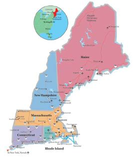 discover new england: the official tourism website for new