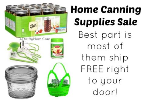 home canning supplies shipped right to your door for free