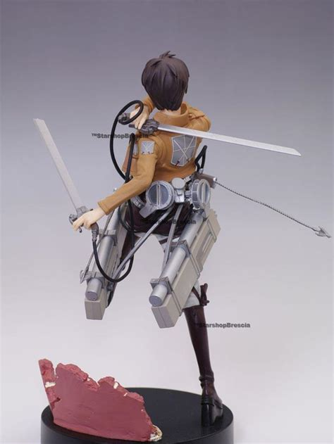 Furyu Attack On Titan Eren Figure Mikasa Figure Set attack on titan eren yeager premium pvc figure furyu