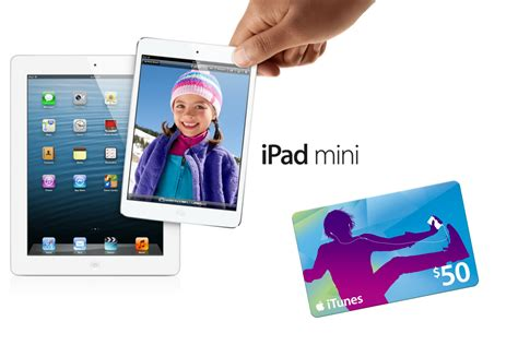 free printable gift certificates for ipad ipad mini 50 itunes gift card giveaway whipperberry