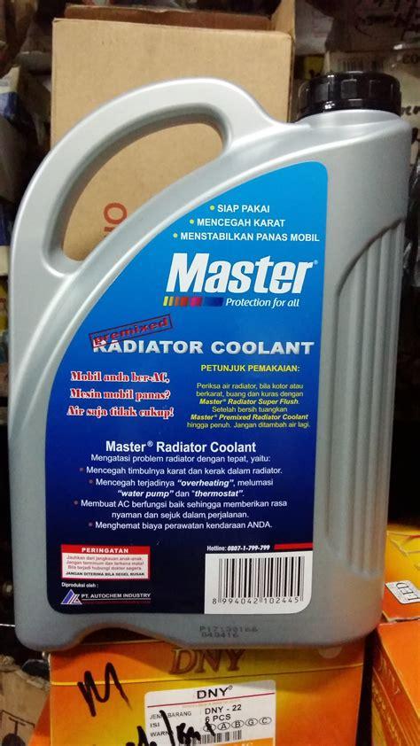 Master Radiator Coolant jual master premixed radiator coolant air radiator merah