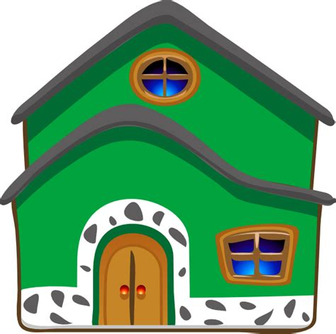 clipart casa green house energy clip at clker vector clip