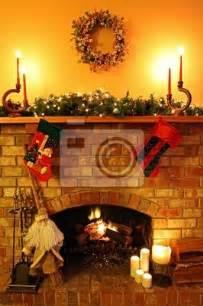 Christmas Murals For Walls wall murals christmas fireplace pixersize com