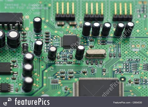 technology computer circuit board stock image i2854530
