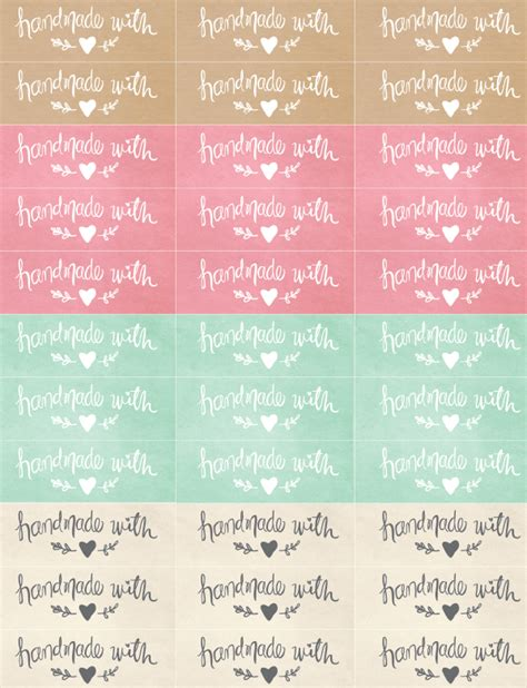 Handmade Stickers Labels - handmade packaging labels diy