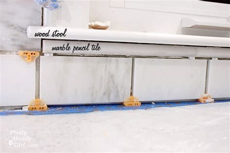 how to install a pencil tile backsplash and what it costs the how to tile a backsplash part 1 tile setting pretty