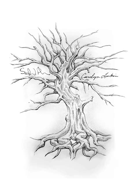starter tattoo designs family tree drawing designs start gathering all