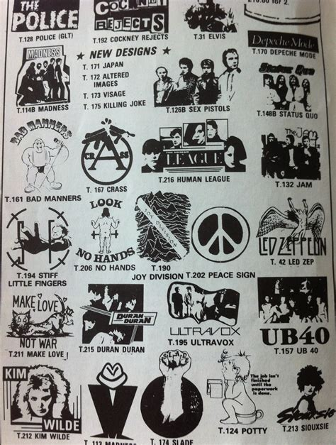 Delwyn Print New The Boys Logo Rock Band Legend Size S To L did your t shirt these band logos in the early 80s