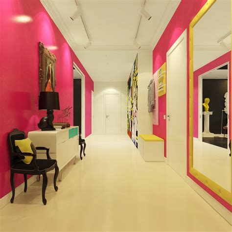 pop interior design modern pop art style apartment