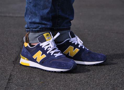 New Balance 373 Navy Yellow White new balance 565 navy yellow sneakernews