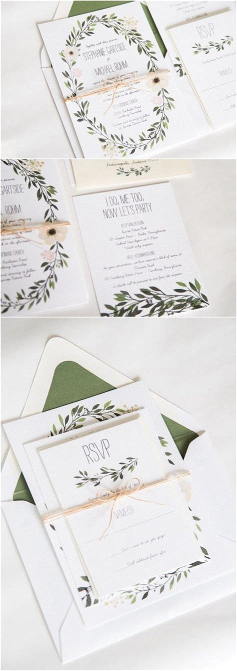 25 best ideas about watercolor wedding invitations on