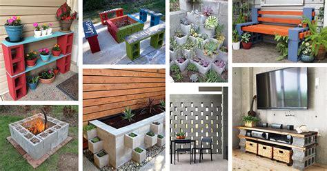 ways   cinder blocks ideas  designs
