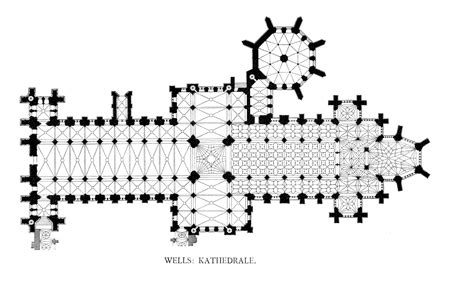 wells cathedral floor plan willis architectural history of glastonbury abbey chapter 4