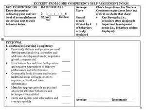 critical success behaviors core competencies