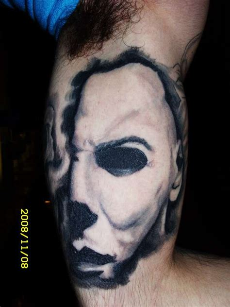 micheal myers tattoo