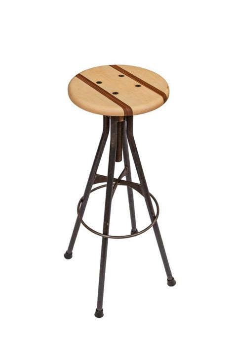drafting bar stool wood and steel bar stool adjustable drafting style ff e bar stools pinterest bar