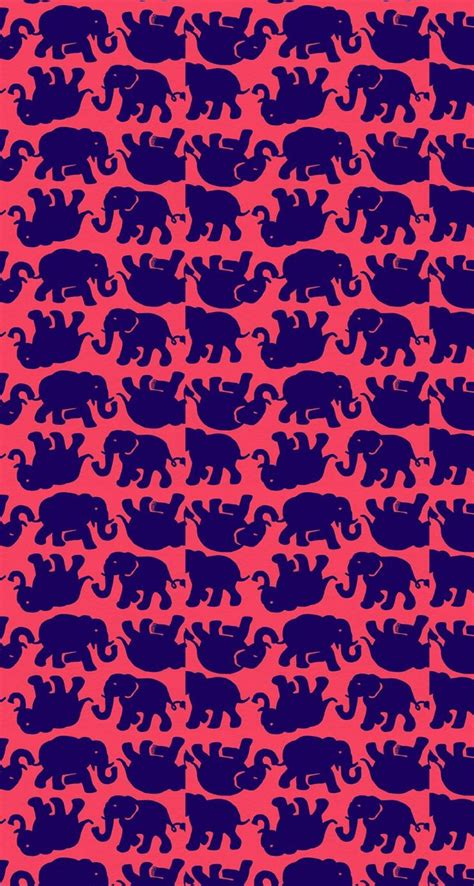 elephant pattern wallpaper lilly pulitzer patterns elephant wallpaper