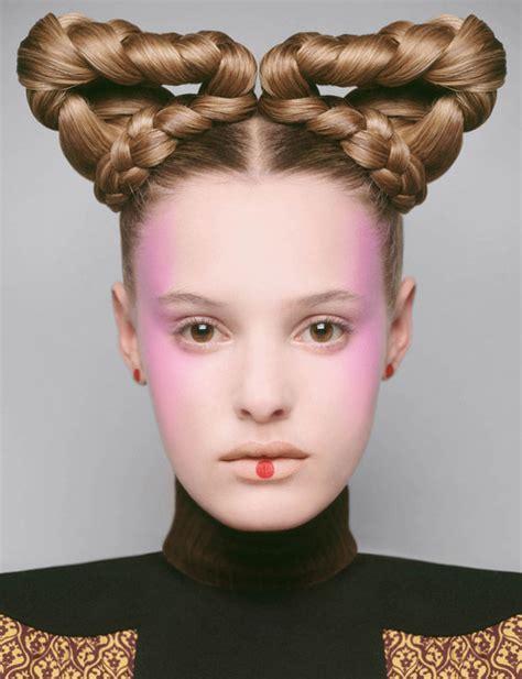 haircuts queens futuristic hair editorials futuristic hair bazaars and
