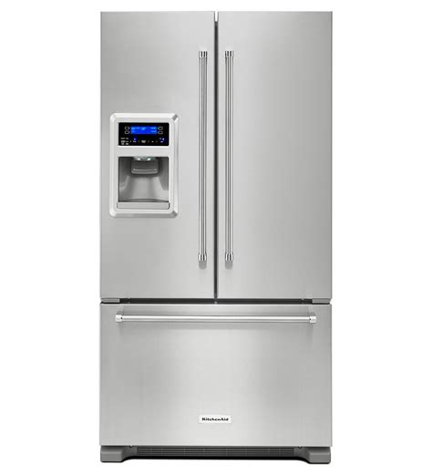 krfc400ess kitchenaid counter depth door refrigerator