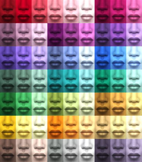 Sims 4 Cc Skin Colors | my sims 4 blog improved 63 custom skin colors by the
