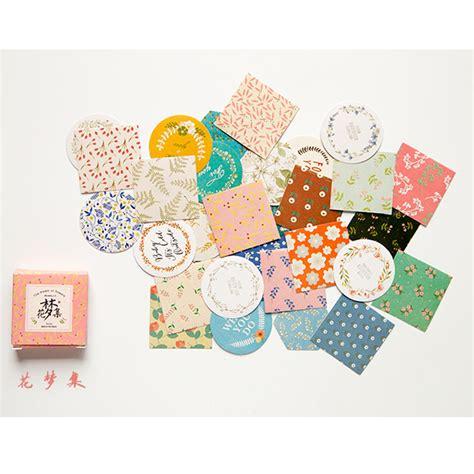 Paper Crafts And Scrapbooking - flower 40pcs bag diy kawaii scrapbook paper