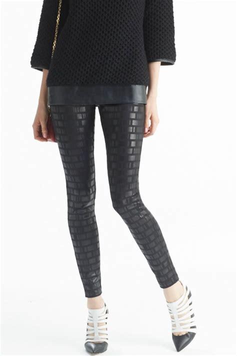 pinterest pattern leggings block pattern hue geo print jean leggings allthehues