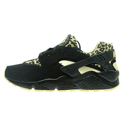 s nike air huarache sneakers running shoes black