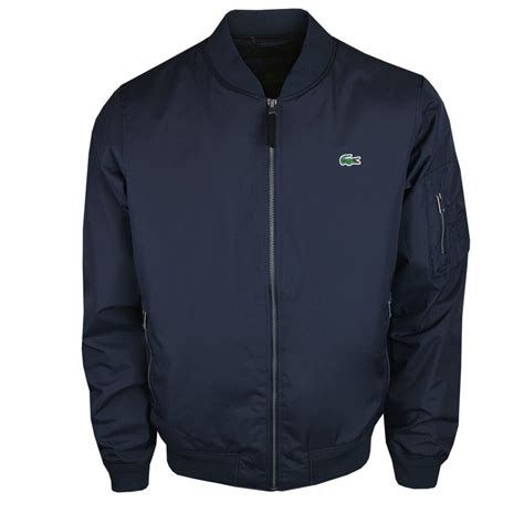 Jacket Style lacoste bh8262 varsity style jacket navy lacoste from vault menswear uk