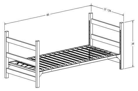 Standard Bed Frame Sizes Room Layout Housing At Purdue