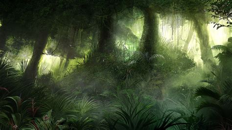 jungle painting jungle by karatastamer on deviantart