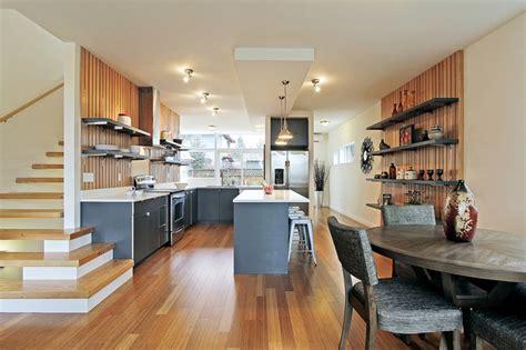 modern kitchen cabinets seattle green built seattle townhouse modern kitchen seattle