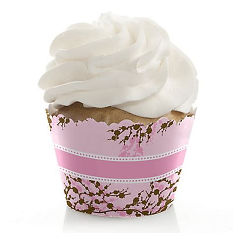 cupcake liners for bridal shower cherry blossom themed bridal shower planning ideas