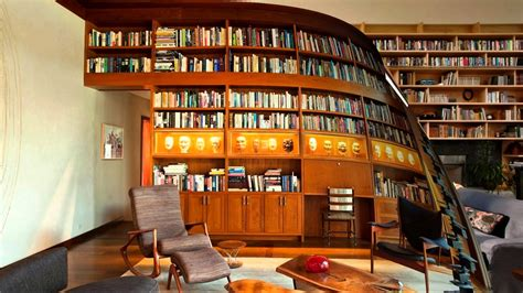 design online library home library interior design youtube