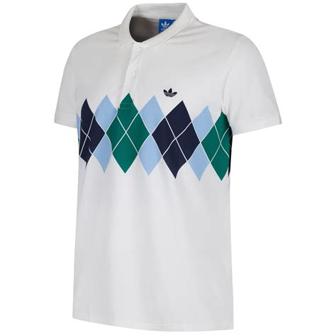Polo T Shirt Adidas 7 adidas originals argyle ivan lendl s polo shirt white