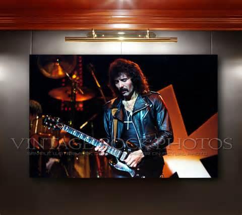 Black Sabbath 12 Size S tony iommi black sabbath 12x18 inch poster size photo live