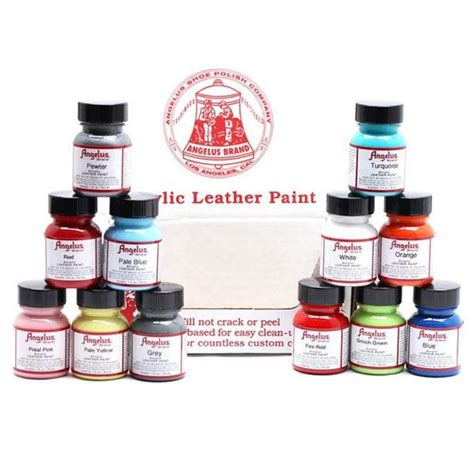 where to buy paint angelus leather paint customize clean and restore shoes