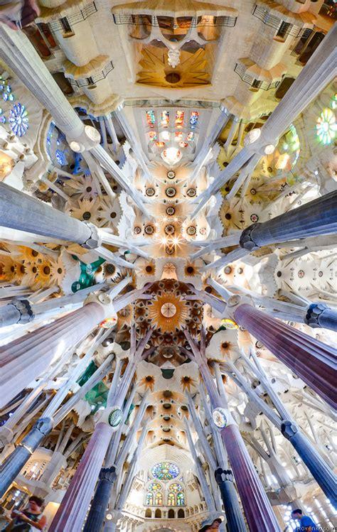 Interior Sagrada Familia by Interior Of The Sagrada Familia Barcelona Rovenko