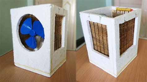 Handmade Air - how to make an air cooler at home best out of waste