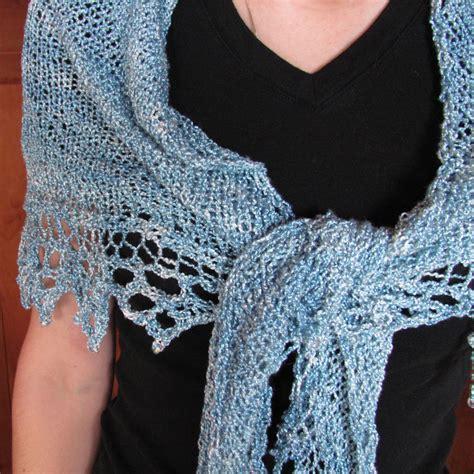 free shawl knitting patterns triangle shawl knitting pattern free images